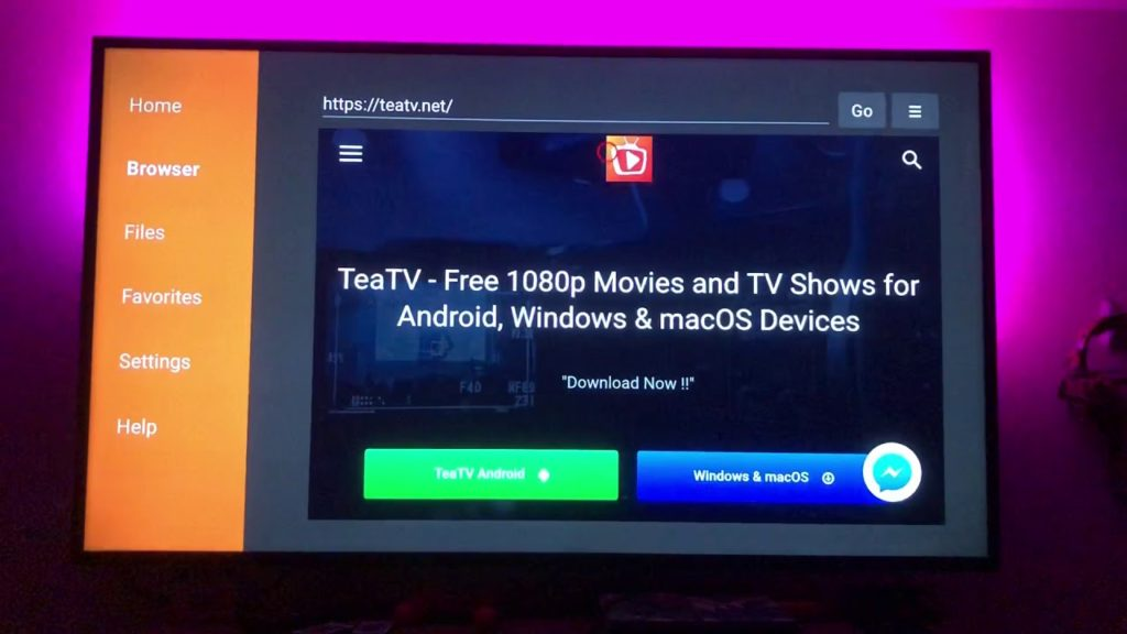 tea tv for firestick
